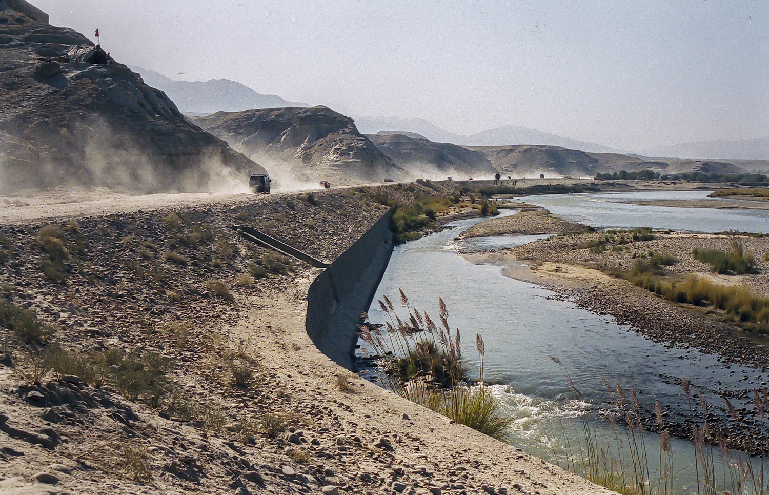 Kabul river, province Laghman, Afghanistan