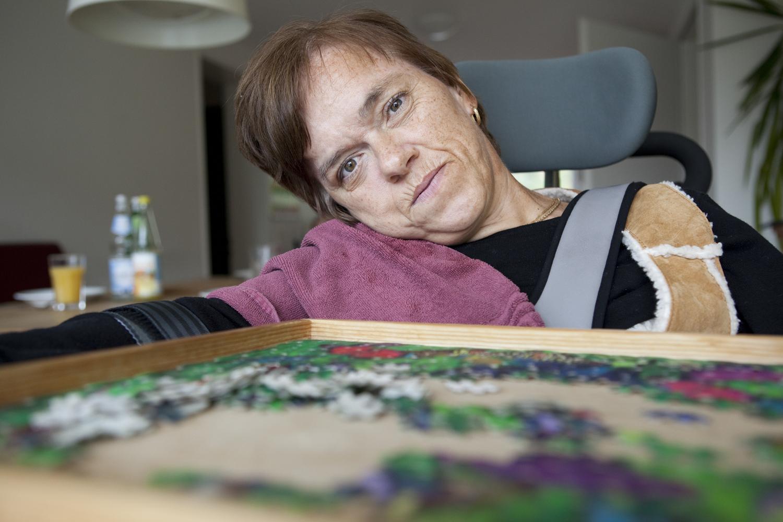 Leben mit Behinderungen, Sylke, Sylke Lepschi, Wohnen im Eisenwerk