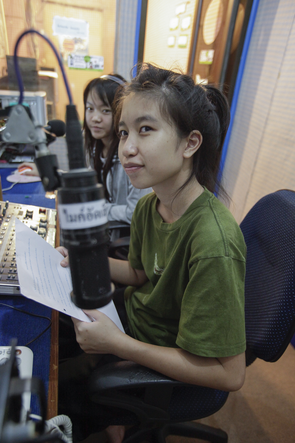 Nordthailand, Kindernothilfe, DEPDC, Child Voice Radio, Child Help Line