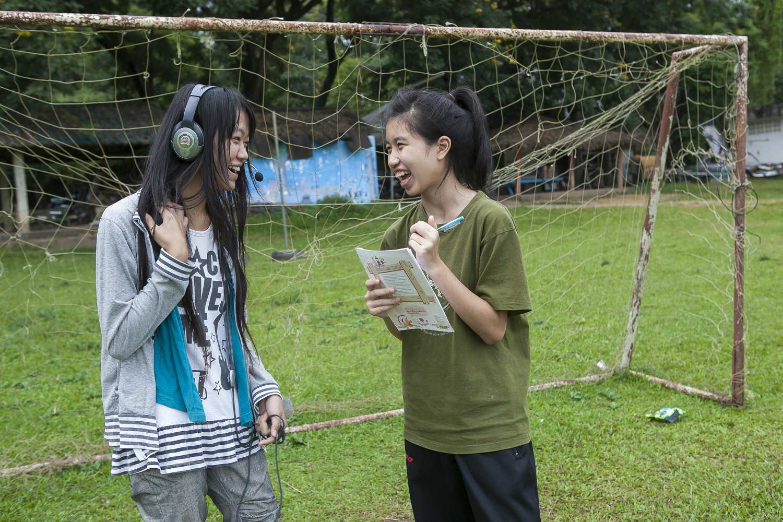 Nordthailand, Kindernothilfe, DEPDC, Child Voice Radio, Child Help Line